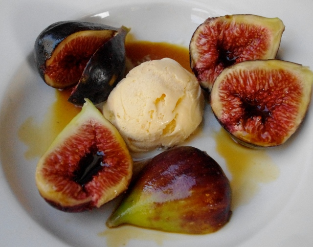 figs in palm sugar syrup