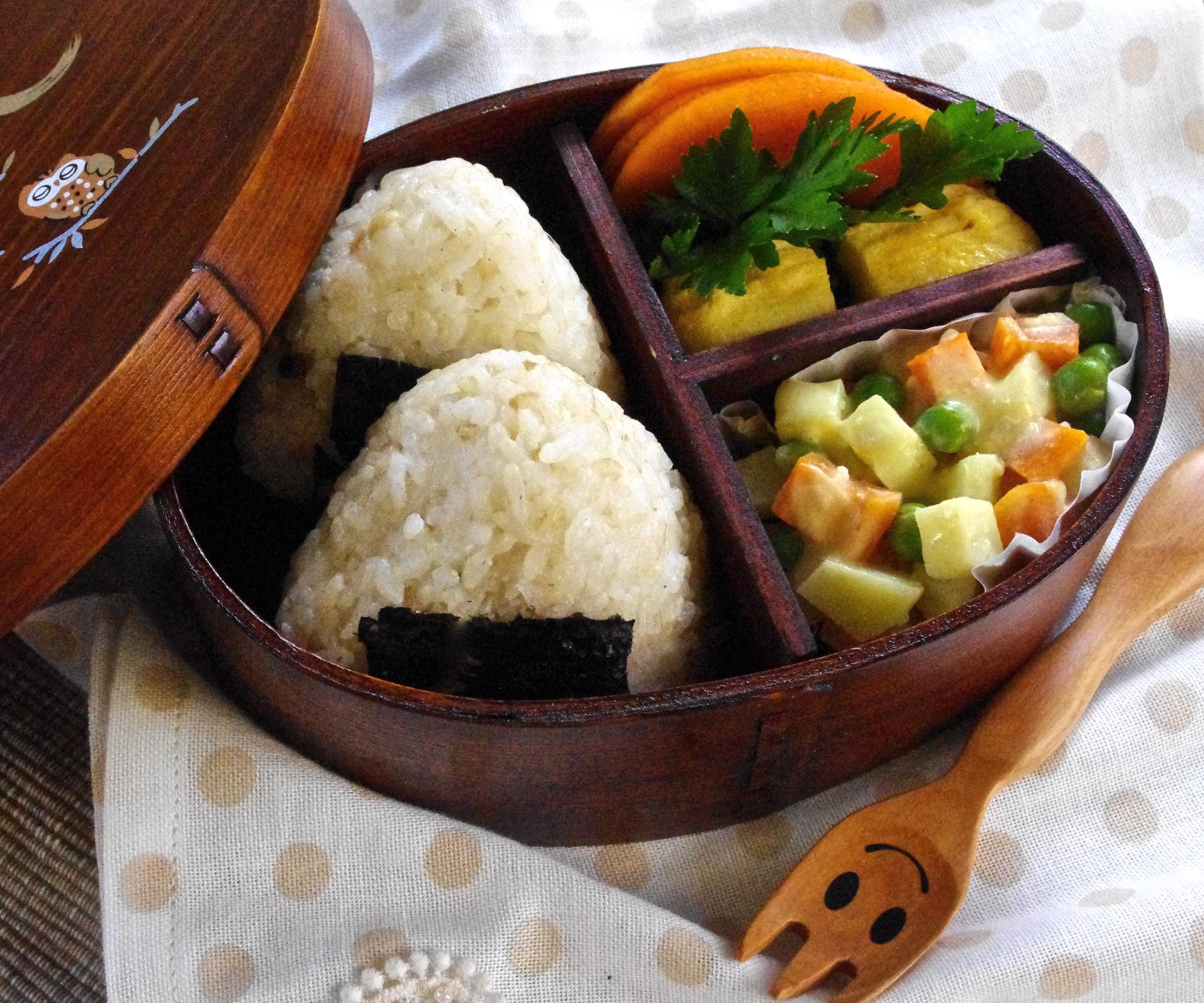 Onigiri Bento chicken onigiri...