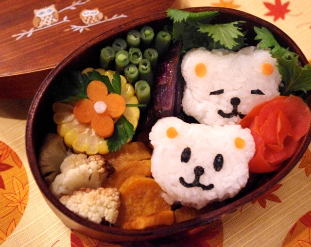 little bears bento