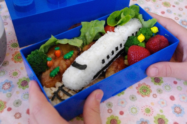 bullet train sushi bento